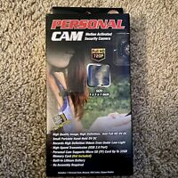 """Personal Body Cam Motion Activated Security Camera Full HD 720p, 1"""" x 1"""" x 1"""""""