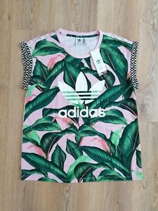 Adidas x Farm Palm Leaf T-shirt