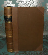**The Complete Works of Shakespeare- Vol 2 Tragedies- c1900- HB, Kenny Meadows,