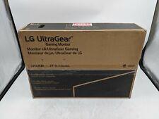 """New LG UltraGear Gaming Monitor (27GL83A-B) 27"""" Screen 2560X1440 -CH0102"""