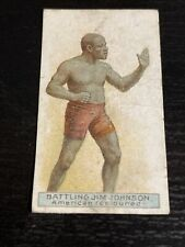 More details for cigarette cards wills jim johnson 1911 boxers rare overseas issue