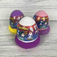 Lot Of 3 Mashems Hatchems ~ Blind Eggs Crack Surprise Series-1