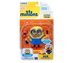New  Minions Movie Bob with Teddy Bear Action Figure 4+