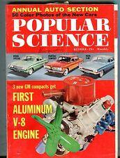 Popular Science Magazine October 1960 Aluminum V-8 Engine Buick 062317nonjhe