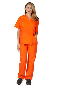 Orange is the New Black Unisex Scrub Set For Halloween Costume Parties and more