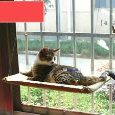 Cat Kitty Basking Window Hammock Perch Cushion Bed Hanging Shelf Seat Mounted QW