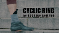 CYCLIC RING (Gimmick +Online Instructions) by Rodrigo Romano Street Magic Tricks