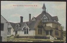 Postcard SOMERSWORTH New Hampshire/NH  Burleigh School Campus Building 1907