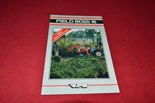 White 16 Field Boss Tractor Dealers Brochure YABE14