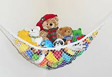 US Stock Toys Hammock Net Organizer Corner Kids Toy Hanging Storage Space-saving