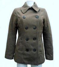 Manteau LOGG H & M Taille 38 / 40 M / L Hiver Marron Laine matelassé Coat