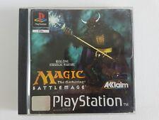 PS1 MAGIC: THE GATHERING BATTLEMAGE PLAYSTATION 1 PAL