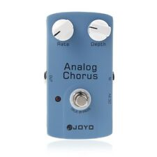 JOYO JF-37 ANALOG CHORUS Electric Guitar Effect Pedal with True Bypass