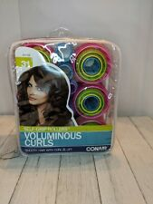 Conair Self-Grip Rollers Assorted Sizes 31 Count Voluminous Curls