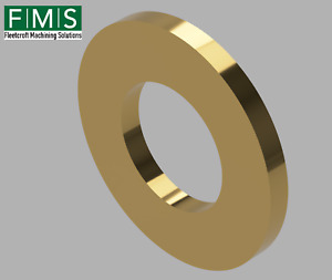 Brass Washer Form A - M10 - M8 - M5 - M4 - Discounted Bags
