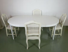 Maisons du Monde Extending Dining Table and Nordic Style Chairs: RRP £2550