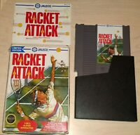 Racket Attack Tennis Nintendo NES Vintage original game complete in the box CIB