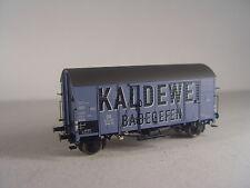 DB Güterwagen Gms - KALDEWEI Badeofen   - Brawa HO 1:87 Wagen 47924  #E