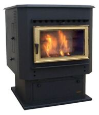 Magnum Countryside Flex-Fuel Stove with Pedestal and 24K Gold Door
