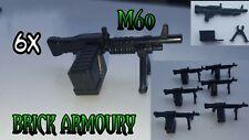 6x Custom Minifigura M60's armamento militar armas se ajusta Lego ® Ejército