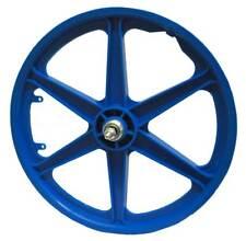 "20"" BMX Mag Rear 6 Spoke Freestyle Retro Bike Colour Wheels Blue Wh300bluer-20a"