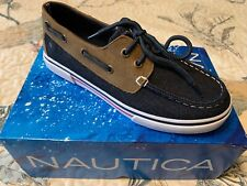 Nautica Boat / Deck Shoes Boys size 3 Youth