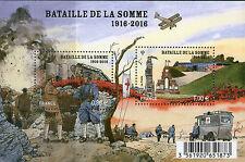 BLOC F5075 OU TP 5075-5076 NEUF XX Première Guerre Mondiale Bataille de la Somme