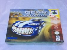 Top Gear Overdrive Nintendo 64, 1998 Brand New Factory Sealed