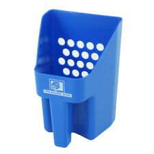 Treasure Wise Blue Plastic Treasure Sand Scoop for Beach Sand Metal Detecting
