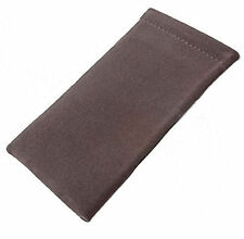 Soft Touch Velour Spectacle Case / Spring Top Glasses Sleeve