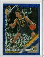 MALCOLM BROGDON Pacers 2019-2020 Donruss OPTIC BLUE VELOCITY PRIZM #108