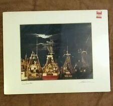 4 photos of Scituate, Massachusetts by Tom Hannon 80s signed