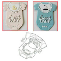 Baby Clothes Metal Cutting Dies Stencil Xmas Scrapbooking Album Paper Card Craft
