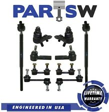 Front Ball Joint Tie Rod Rear Sway Bar Link LH RH Kit Set of 4 for Corolla Prizm