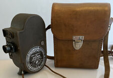 Vintage 1940s Bell & Howell Filmo Double Eight Companion 8mm Cine Camera & Case