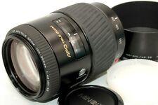 Excellent+++++ Minolta AF APO Tele Zoom 100-300mm f/4.5-5.6 Lens Hood sony Japan