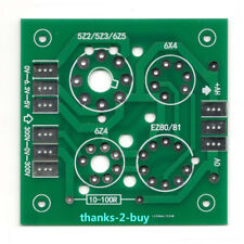 Tube Rectifier Filter Board Bare PCB for 5Z2/5Z3 6Z5 6X5 EZ80 EZ81 6Z4 6X4 5AR4