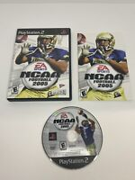 NCAA Football 2005 (2005 Sony Playstation 2) PS2 Game, Case, Manual, CIB