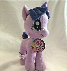 "Twilight Sparkle My Little Pony 10"" Plush Purple Unicorn Hasbro New 2013"