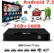 Trongle W95 4K 7.1 TV Box S905W Quad Core 2GB+16GB 3D HD WiFi HDMI Media Player