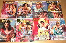 Historical Romane Band 60 bis 65, 68, 69 = 8 Historische Liebesromane  - bk006