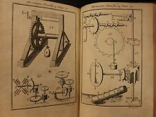 1720 Mathematics GEOMETRY Illustrated Cannons Firearms Inventions Architecture
