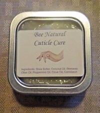 All Natural Cuticle Cure - 2oz intensive cuticle repair cream - Peppermint