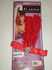 Charleston Flapper headpiece RED Adult Roaring 20's Costume Forum