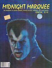 Midnight Marquee #48 Dec 1995 Paul Naschy Horror meets Noir Murders in the Zoo