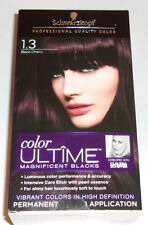 Schwarzkopf Color Ultime Hair Color 1.3 Black Cherry Magnificent Blacks Schiffer