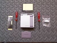 GBA SP Game Boy Advance SP Housing Shell Screen Classic NES Limited Edition USA!