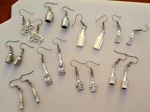 Wine / Drink themed earrings** various styles **
