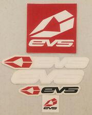 New ListingEvs Racing Mx Atv Gear Utv Gncc Motocross Dirtbike Decal Sticker Emblem Set Of 5