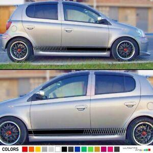 Stripe for Toyota Yaris RS Vitz XP10 Visor 2000 2001 2002 2003 2005 Kit Sticker
